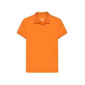 Polo naranja en 100% algodón pima Peruano. Ideal para un look informal y deportivo.