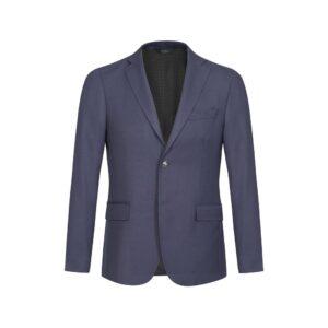 Blazer azul oscuro dos botones en 100% lana