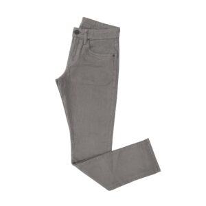 Jean gris medio en algodón con elastano