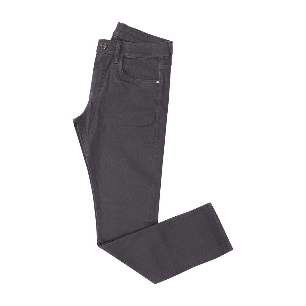 Jean gris oscuro en algodón con elastano