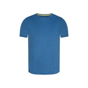 Camiseta azul en 100% algodón.
