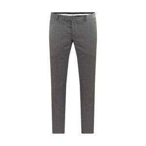 Pantalón gris jaspeado, slim fit. Elaborado con lana 100% Italiana de Marzotto.